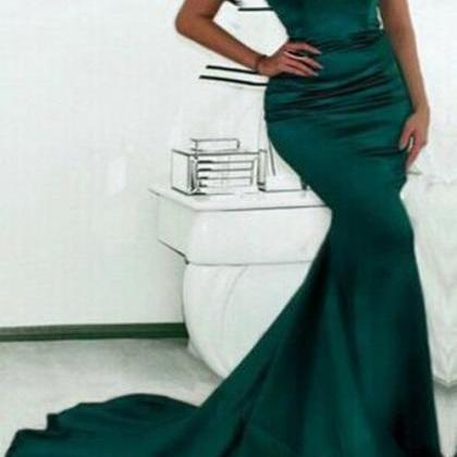 mermaid prom dresses, long prom dre..