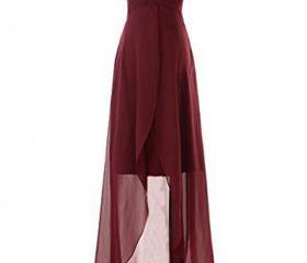burgundy bridesmaid ..