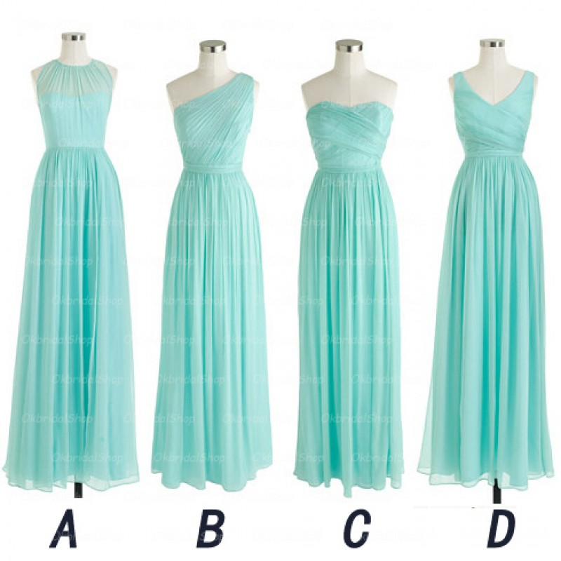 571b9ba33e96 Long Bridesmaid Dress