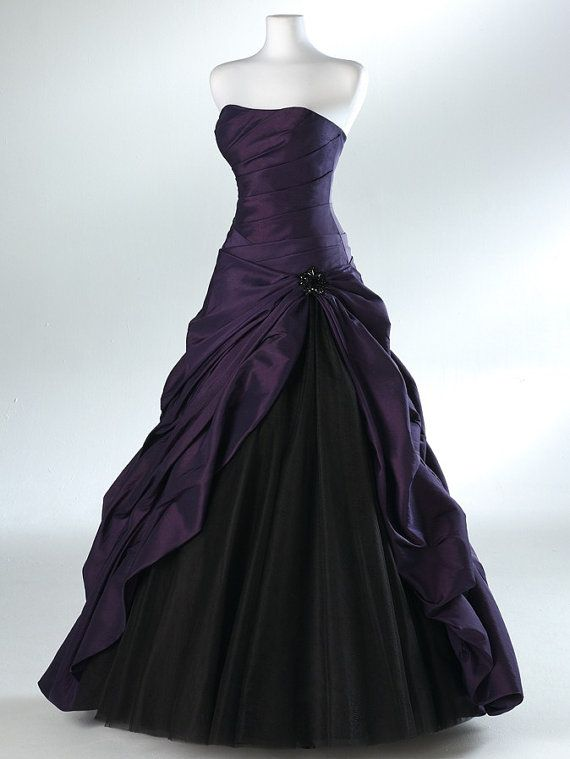 Long Prom Dress, Black Prom Dress, Party Prom Dress, Ball Gown, A ...