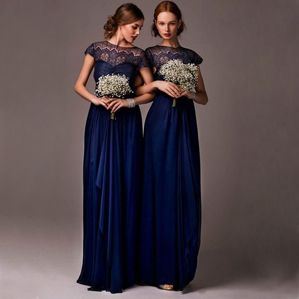 Long Bridesmaid Dress e4b7afa3d435