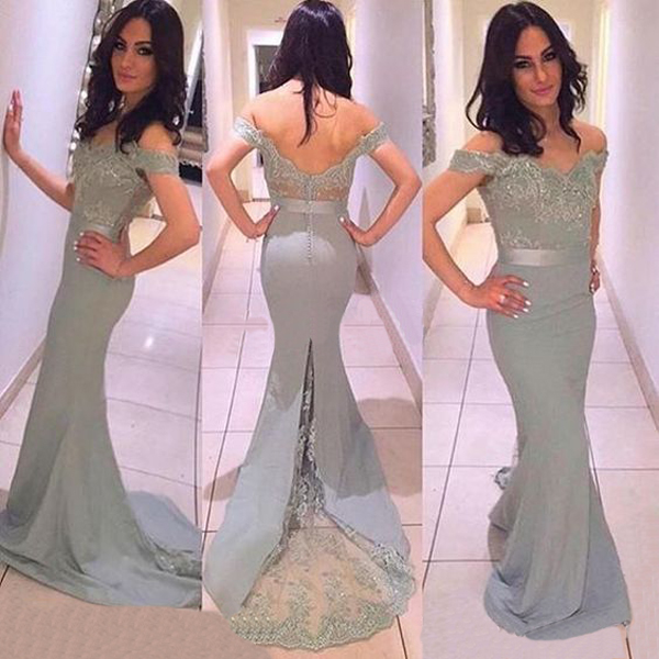 Long Bridesmaid Dress  c48175ed0
