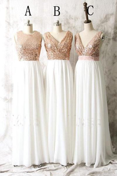 long bridesmaid dress, sparkle bridesmaid dress, mismatched bridesmaid dresses, cheap bridesmaid dress, sequin bridesmaid dress, 146385