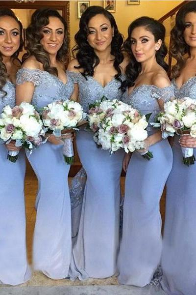 long bridesmaid dresses,off shoulder bridesmaid dresses,sweetheart bridesmaid dress,mermaid bridesmaid dress,elegant bridesmaid dress , 1749