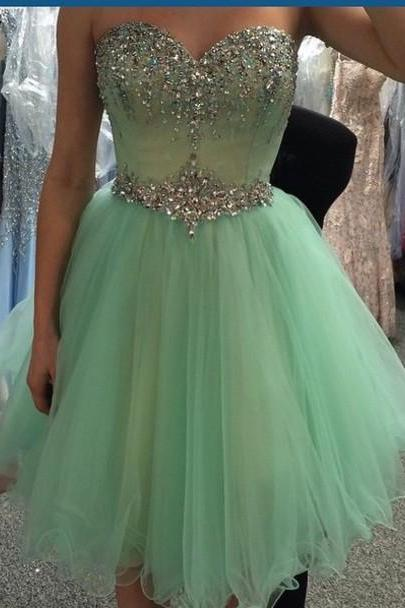 Charming tulle Homecoming Dress,junior Homecoming Dress,Pretty Homecoming Dress,Graduation Dress,Short Homecoming Dress,custom Homecoming Dress,Party Dress,17140
