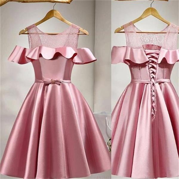 2017 Simple Prom Dress, Unique Short Prom Dress, Junior Graduation Homecoming Dress,, A-line Elegant Homecoming Dress, 17911