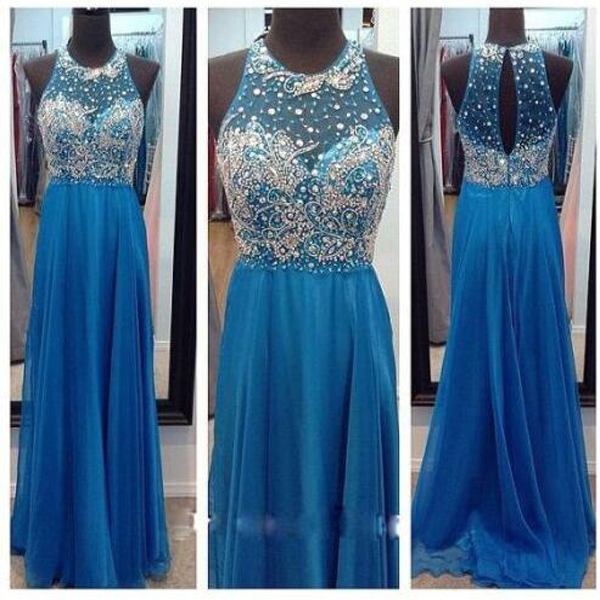 long prom dress,blue prom dress, sleeveless prom dress,off shoulder prom dress,sparkle prom dress,party prom dress,evening prom dress,sexy prom dress,discount prom dress,2016 prom dress,1723
