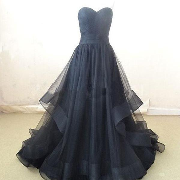 long prom dress ,off shoulder prom dress ,sweetheart prom dress ,black prom dress ,party prom dress ,evening prom dress ,cheap prom dress ,1792
